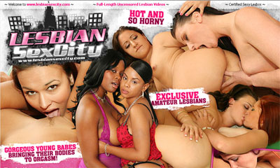 Lesbian Sex City