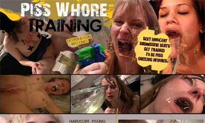 Piss Whore Training