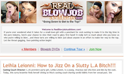 Real Blowjob Auditions